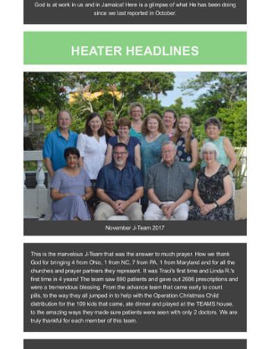 Heater Headlines