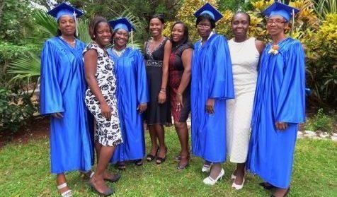 BTC first grad- ladies only